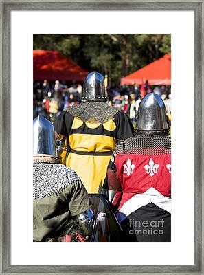 Knight Squad Framed Print