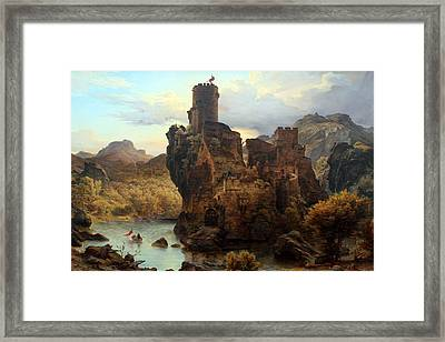 Knights Castle Framed Print