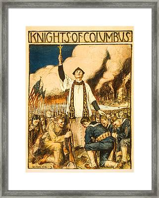 Knights Of Columbus Framed Print