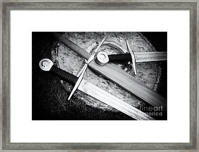 Knights Of Old 12 Framed Print by Bob Christopher