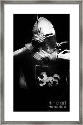 Knights Of Old 3 Framed Print by Bob Christopher