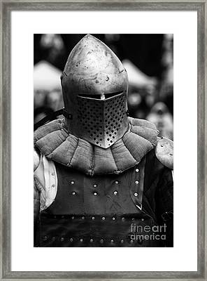 Knights Of Old 4 Framed Print by Bob Christopher