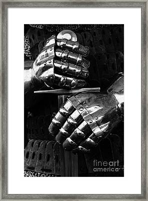 Knights Of Old 7 Framed Print by Bob Christopher