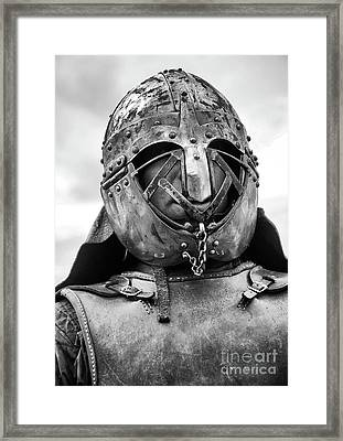 Knights Of Old 8 Framed Print by Bob Christopher