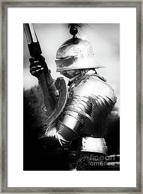 Knights Of Old 9 Framed Print by Bob Christopher