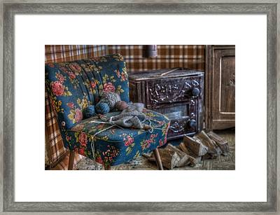 Knitting Corner  Framed Print by Nathan Wright