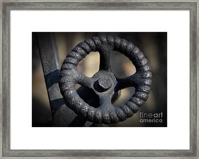 Knob Framed Print