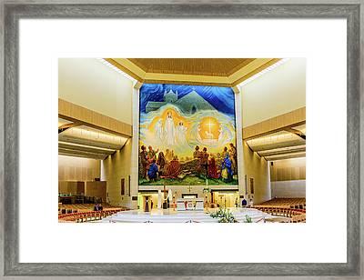 Knock Basilica - Knock Ireland Framed Print