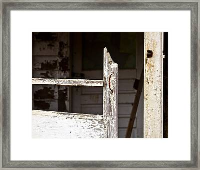 Knock Knock Framed Print by Tim Fitzwater