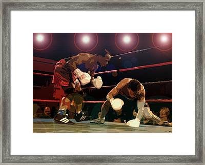 Knockdown Framed Print by David Lee Thompson