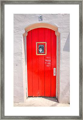 Knockin On Heaven's Door Framed Print by Steven Ainsworth
