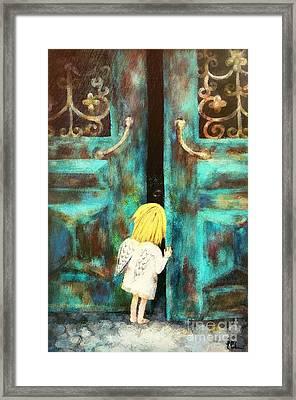 Knocking On Heaven's Door Framed Print