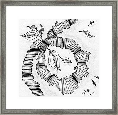 Knot Today, Please Framed Print