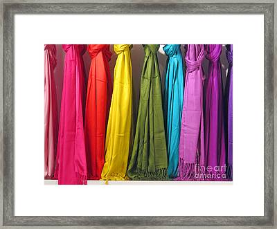 Knots And Fringe Framed Print