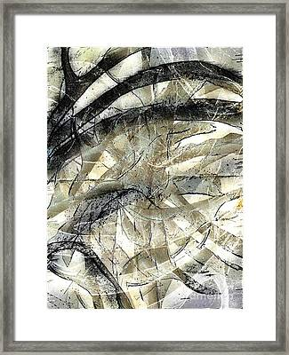 Framed Print featuring the painting Knotty by Vicki Ferrari