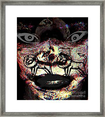 Knowing Darkness Framed Print