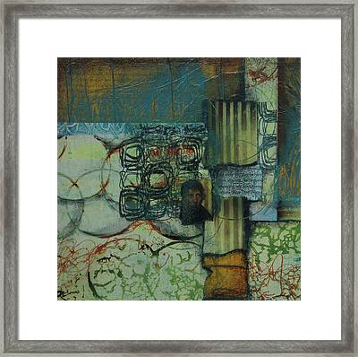 Knowing My Own Thoughts  Framed Print by Laura Lein-Svencner