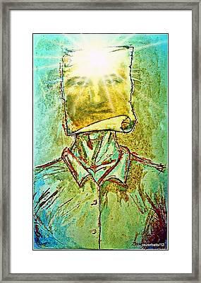 Knowledge Is Power Framed Print by Paulo Zerbato