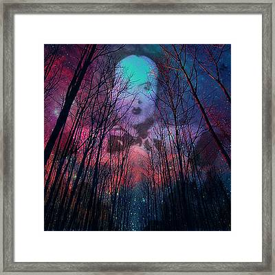 Knowme?  Framed Print by Zen WildKitty