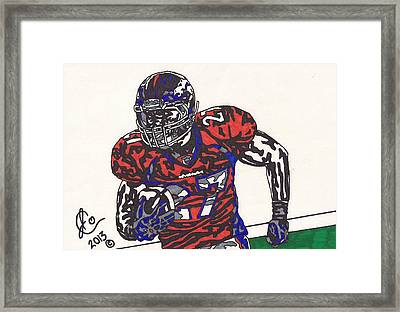 Knowshon Moreno 2 Framed Print by Jeremiah Colley