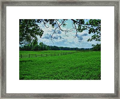 Knox Farm 1786 Framed Print