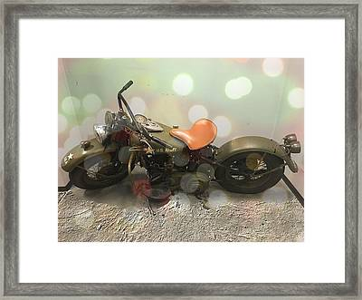 Knucklehead Framed Print by Chris Hartwell