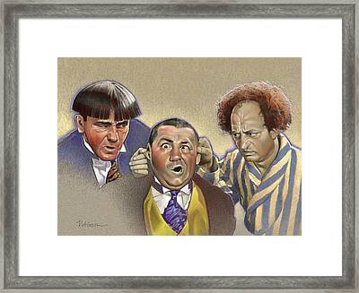Knuckleheads Framed Print by David Robinson