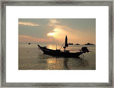 Ko Tao In Evening Framed Print