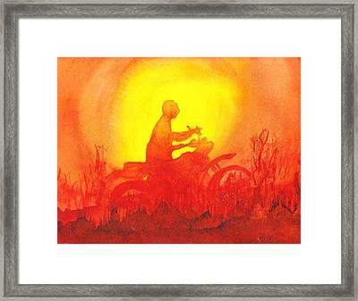 Koala Lumpur Sunset Framed Print