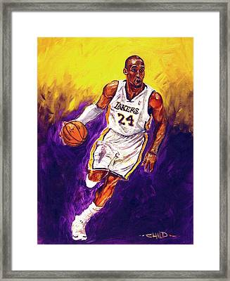 Kobe  Framed Print by Brian Child