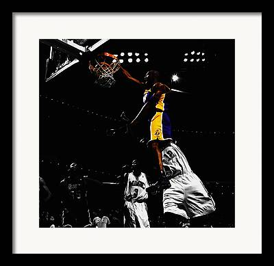 Black Mamba Mixed Media Framed Prints