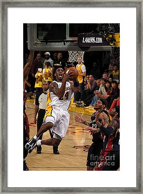 Kobe Framed Print by Marc Bittan