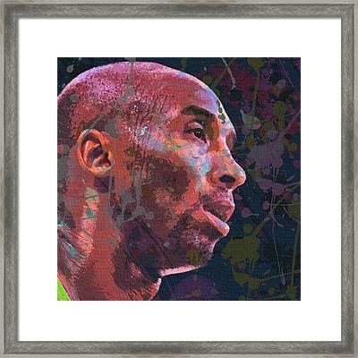 Kobe Framed Print