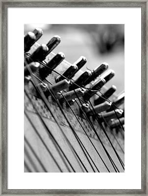 Kobza Framed Print by Oksana Pelts