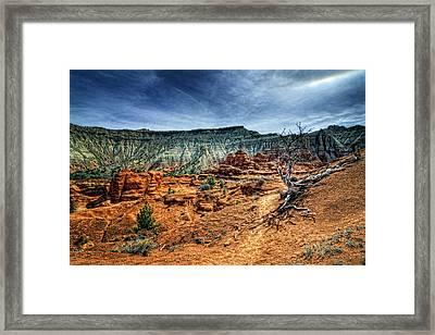 Kodachrome Basin Afternoon Framed Print