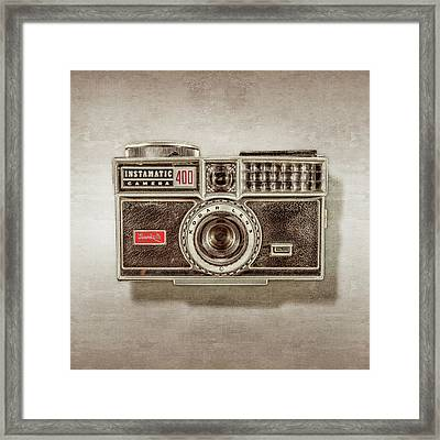 Kodak 400 Instamatic Framed Print