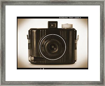 Kodak Baby Brownie Framed Print by Mike McGlothlen