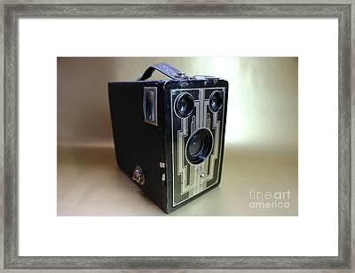 Kodak Brownie Six-16  Framed Print by Erick Schmidt