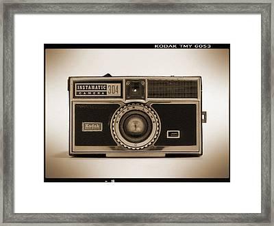 Kodak Instamatic Camera Framed Print by Mike McGlothlen
