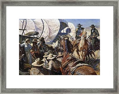 Koerner: Rights To Land Framed Print