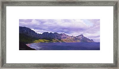 Kogelberg Curve Framed Print