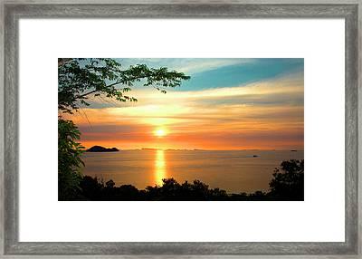 Koh Phangan Framed Print