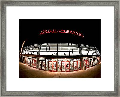 Kohl Center Curves Framed Print by Todd Klassy