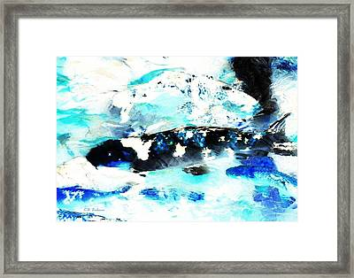 Koi Abstract 2 Framed Print