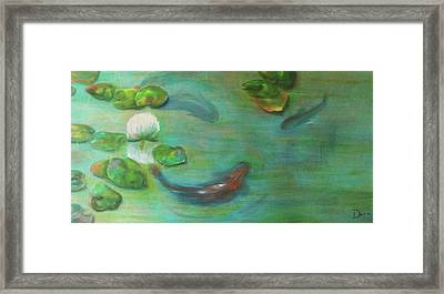 Koi Framed Print by Dana Redfern