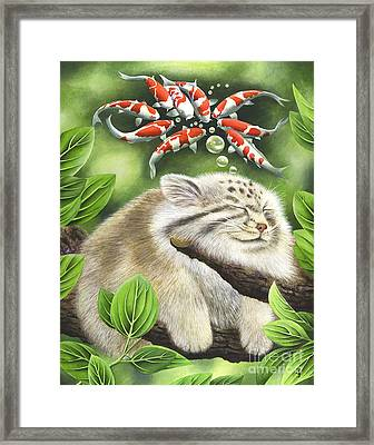 Koi Dreaming Framed Print