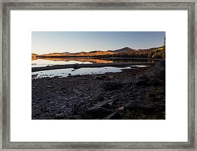 Kokadjo Sunset Framed Print by Brent L Ander