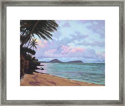 Koko Palms Framed Print by Patti Bruce - Printscapes