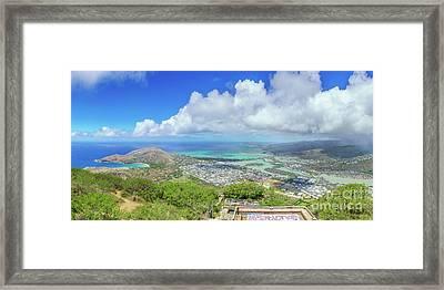 Kokohead Oahu, Hawaii Framed Print