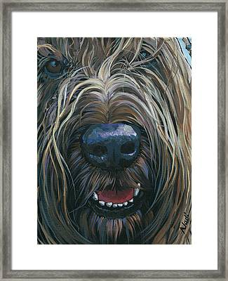 Kolji Framed Print by Nadi Spencer